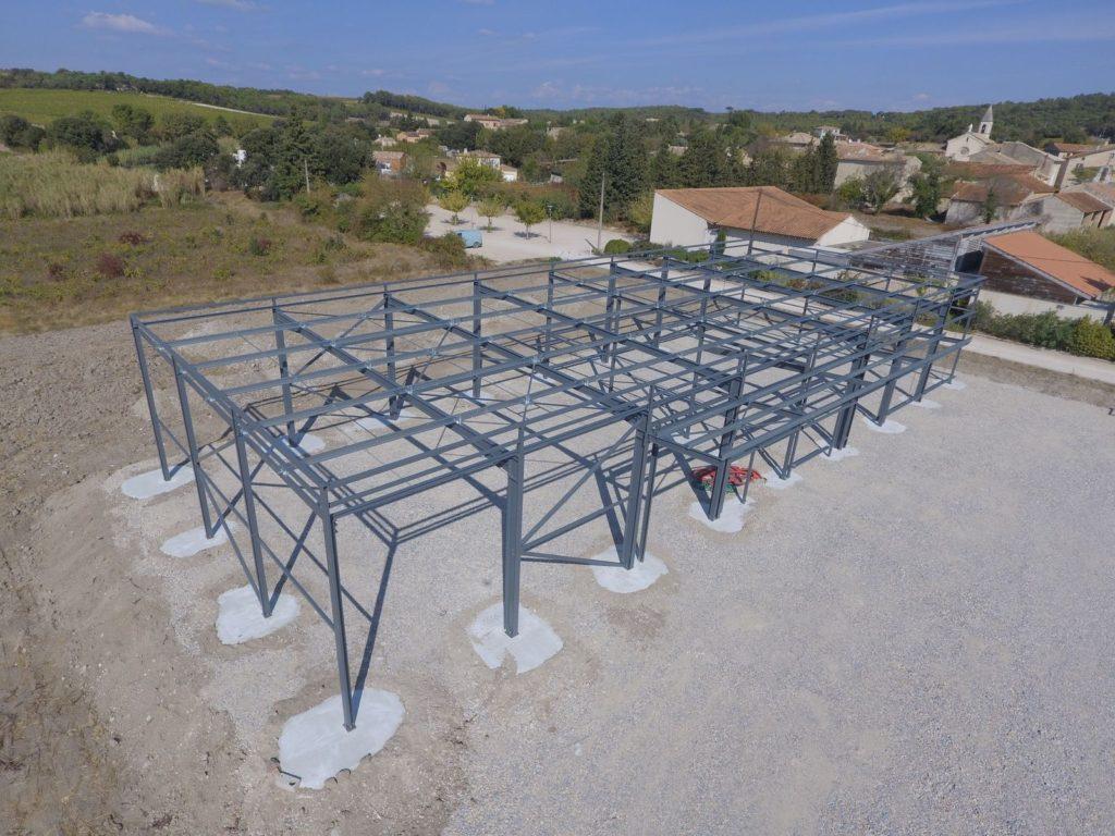 Bâtiment industriel de 600 m²