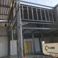 construction batiment cloison