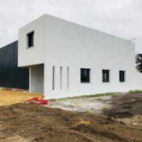 construction batiment pignon