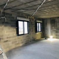 construction batiment intérieur hors d'eau